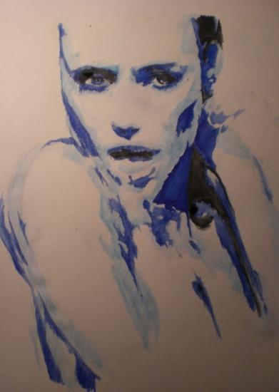 Angelina Jolie by Alguy